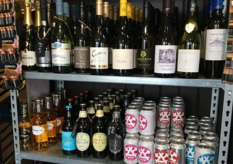 Wines and beers