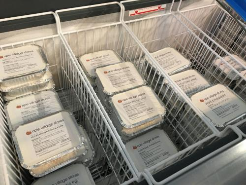 A freezer-full of delicious meals