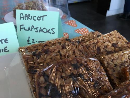 Home made flapjacks